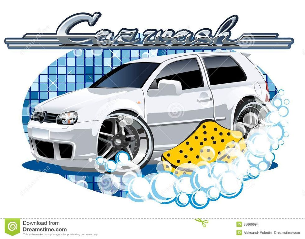 free cartoon car wash clipart - photo #33
