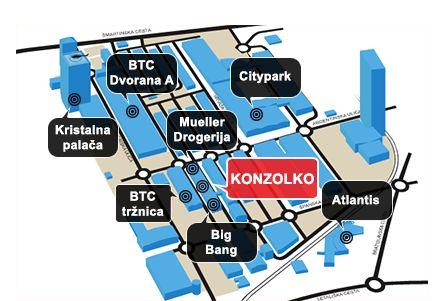 Žemėlapyje Kelionių agentūros Liubliana, Slovenija