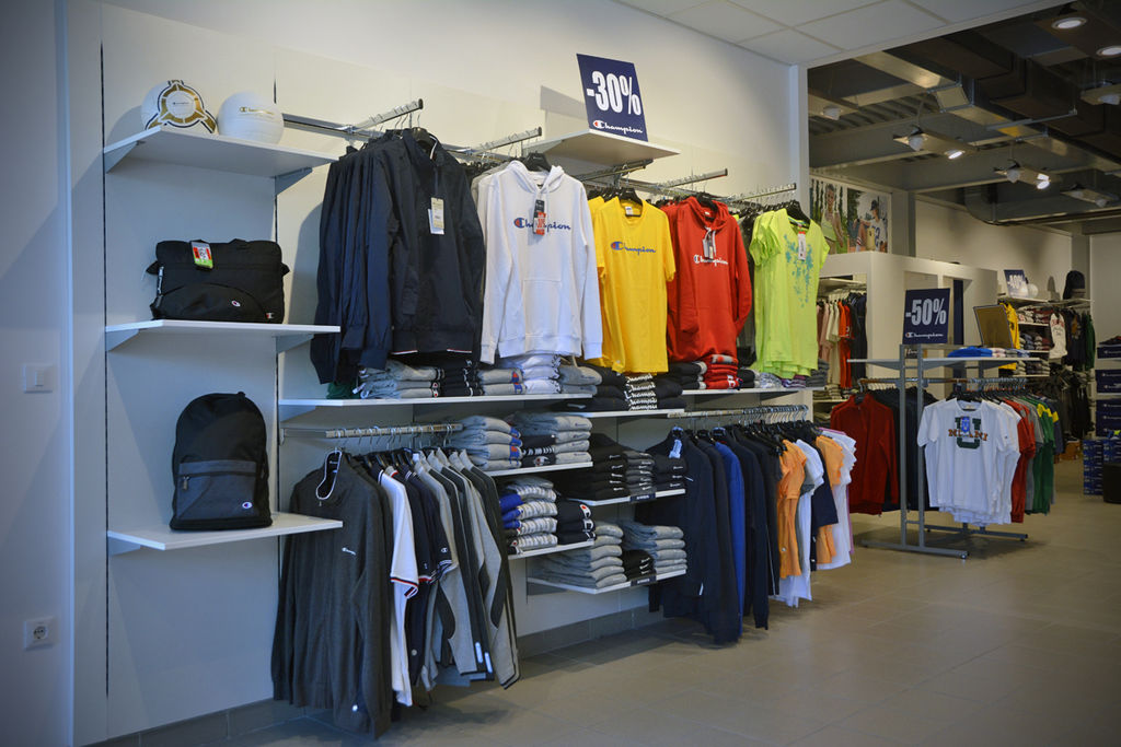Champion clothing outlet store